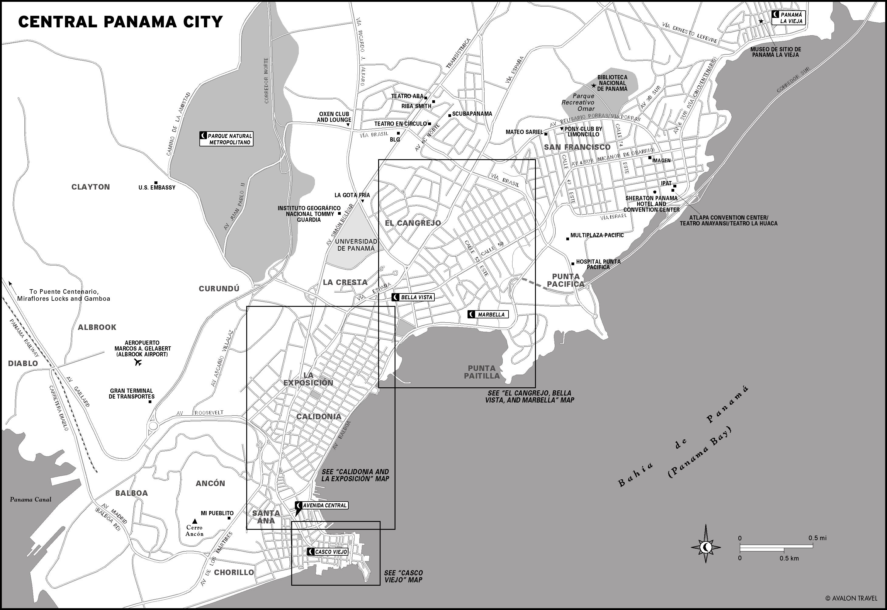 Maps Panama Car Rental Agency Rent A Car In Panamapa